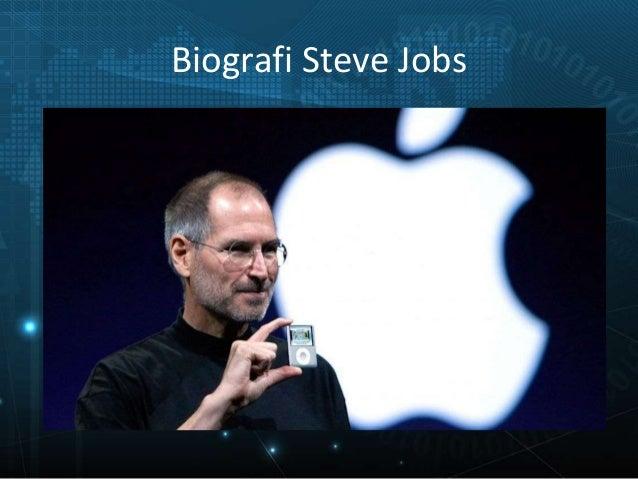 Biografi Steve Jobs Slide 2