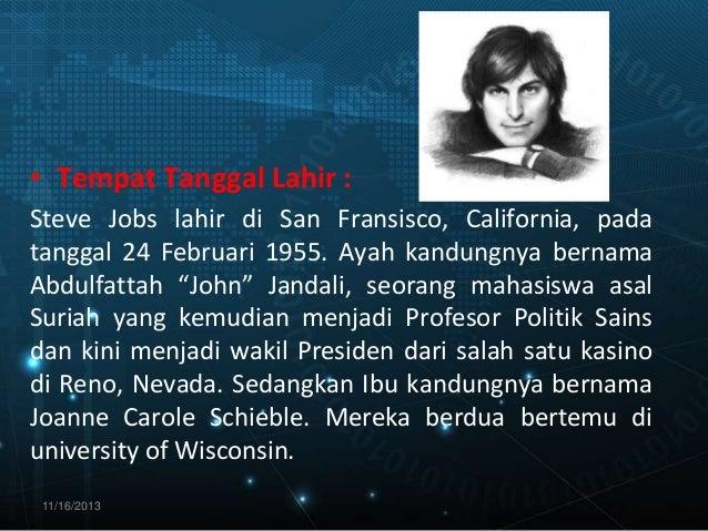 Biografi Steve Jobs Slide 3