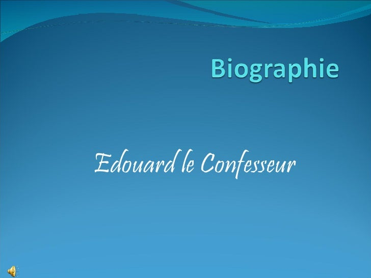 Edouard le Confesseur