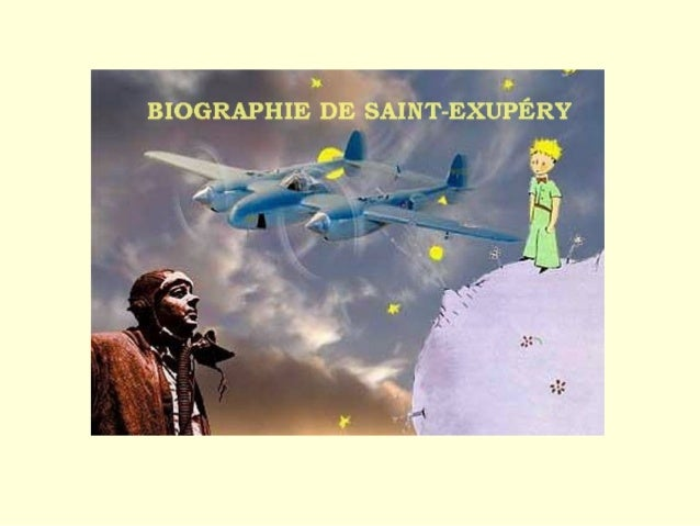 Complétez la biographie de Saint-Exupéry au passé composé