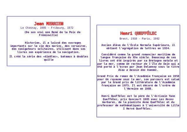 JJeeaann MMEERRRRIIEENN  Le Chesnay, 1905 – Fribourg, 1972  (De son vrai nom René de la Poix de  Fréminville)  Historien, ...