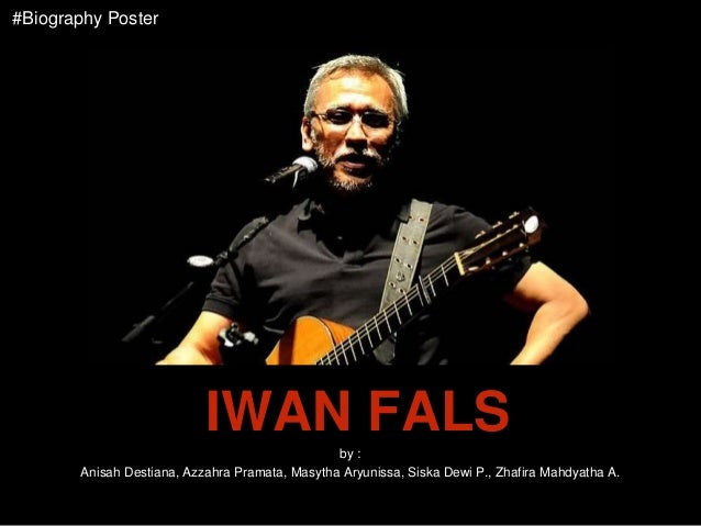 Biography Poster Iwan Fals