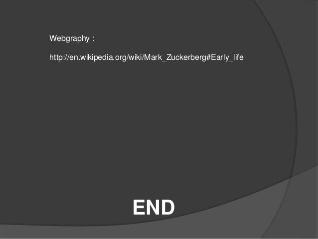 Biography Mark Zuckerberg