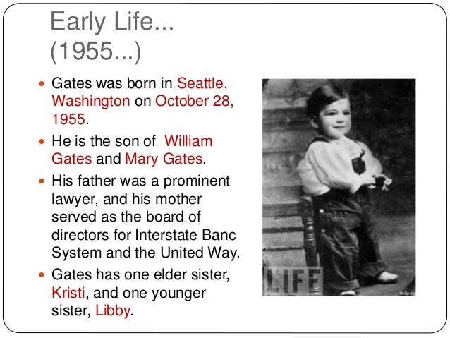 an introduction to the life and career of william henry gates iii Bill gates (william henry gates iii) 61 likes gates was born in seattle, washington, to william h gates, sr and mary maxwell gates  he was the fourth of his name in his family, but was known as william gates iii or trey because his father had the ii suffix early on in his life, gates's parents had a law career in mind for him when.