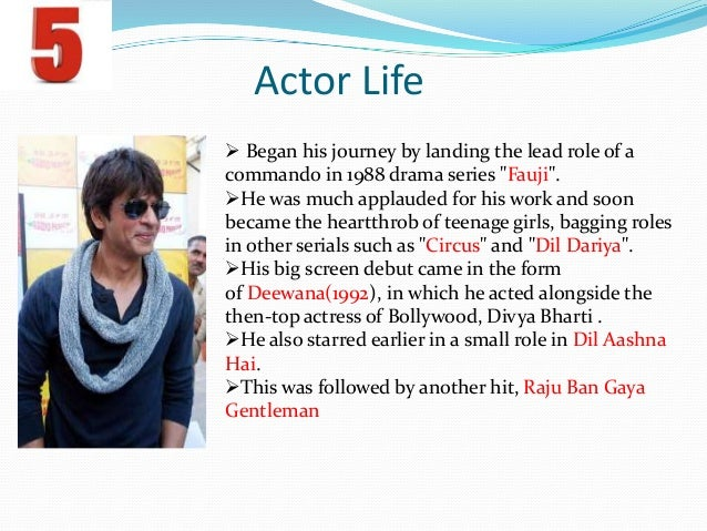 Shahrukh Khan Biography Book