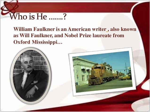 Dying Is William Faulkner's Story,&nbspTerm Paper