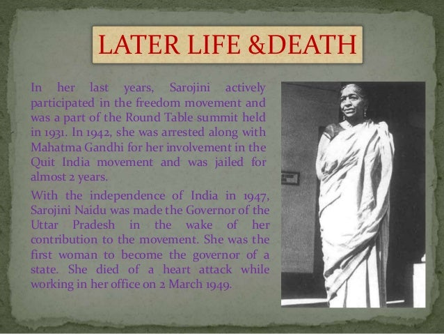 sarojini naidu date of birth