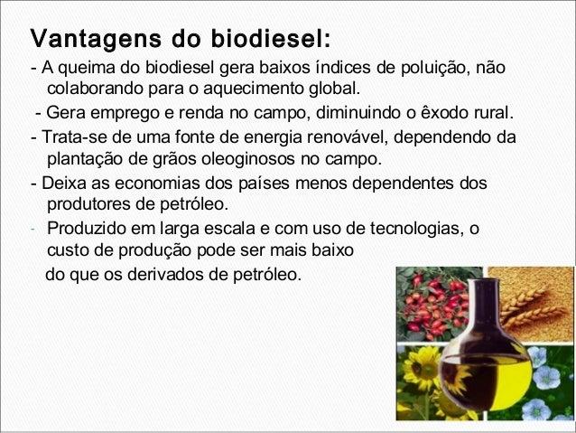 Vantagens- É considerada uma fonte limpa de energia, pois a emissão degases poluentes e bem menor em comparação com a quei...