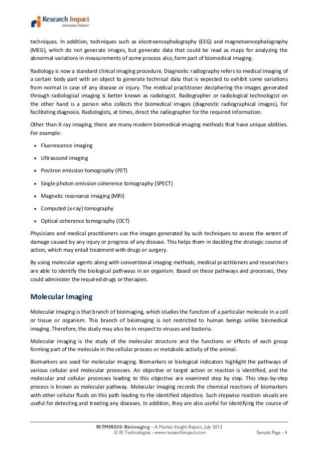 Bioimaging Market Research Report