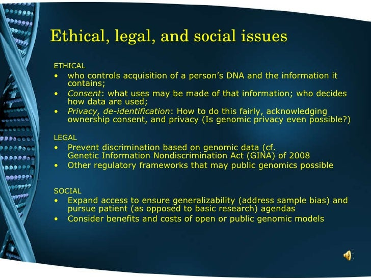 genetic ethical dilemma Assuming that genetic what are some ethical dilemmas relating to genetic engineering which movies are related to ethical dilemma and what are they.