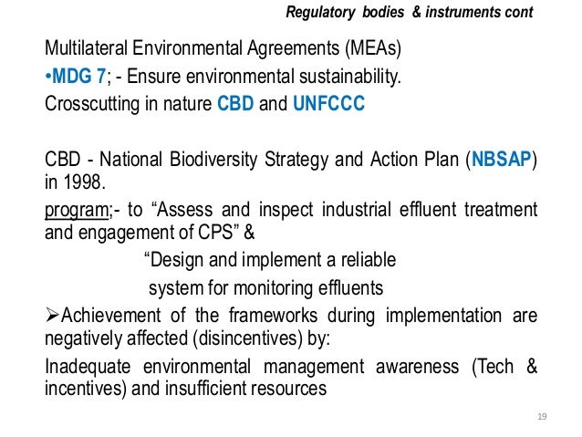National biodiversity strategy and action plan tanzania