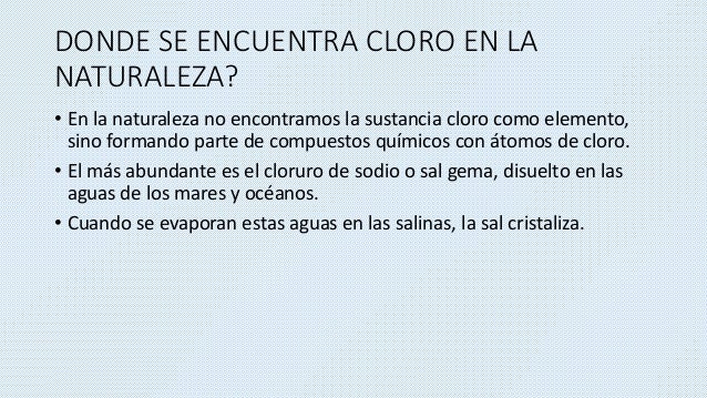 Bioinorganica cloro for De donde se obtiene el marmol
