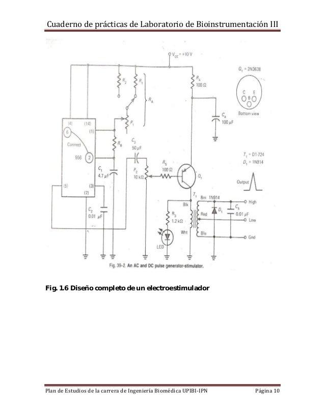 Bioinstrumentacion iii manual lab