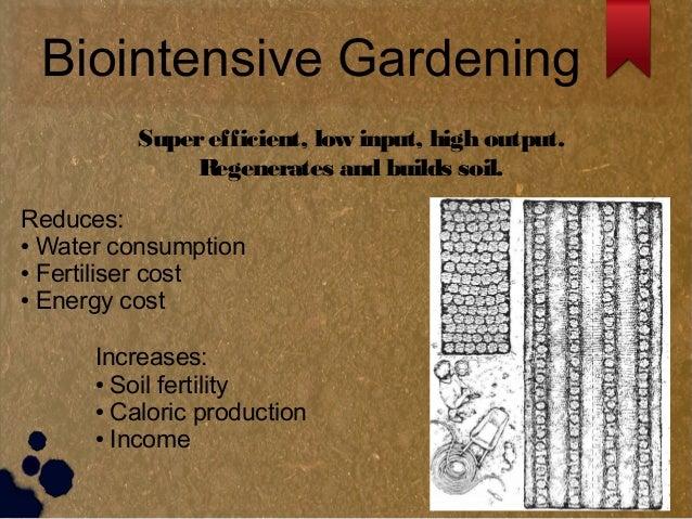 Biointensive Gardening ...