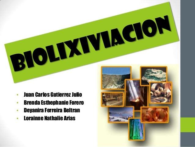 •   Juan Carlos Gutierrez Julio•   Brenda Esthephanie Forero•   Deyanira Ferreira Beltran•   Lorainne Nathalie Arias