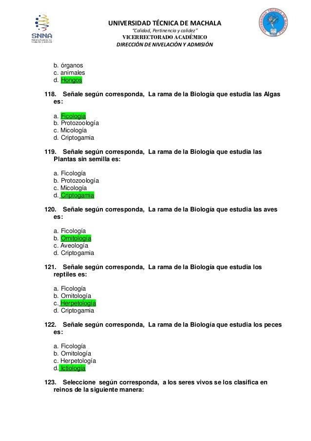 Biología 300 Con Respuestas