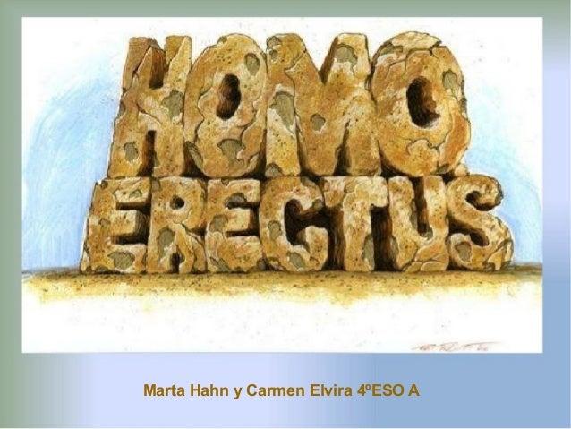 Marta Hahn y Carmen Elvira 4ºESO A