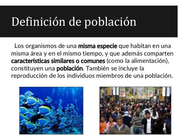 Biología 4 Medio Ecología Poblaciones