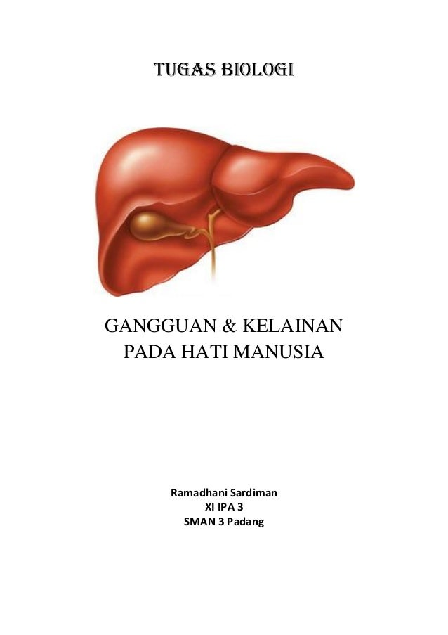 TUGAS BIOLOGIGANGGUAN & KELAINAN PADA HATI MANUSIA     Ramadhani Sardiman          XI IPA 3       SMAN 3 Padang