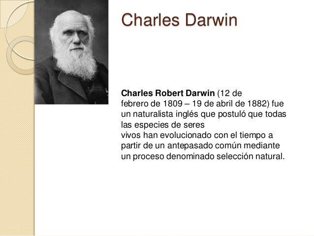 biologia charles darwin etapa