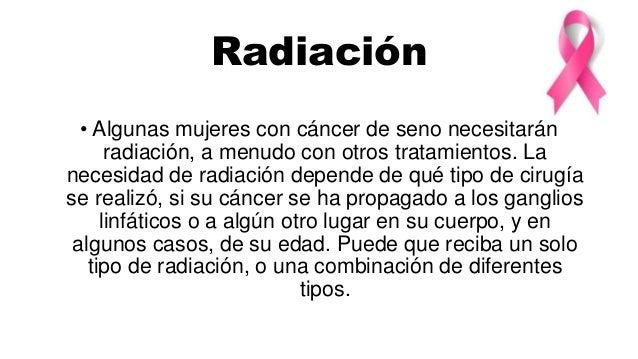 Quimioterapia •Algunas mujeres con cáncer de seno recibirán quimioterapia (quimio). Para combatir el cáncer de seno, la qu...