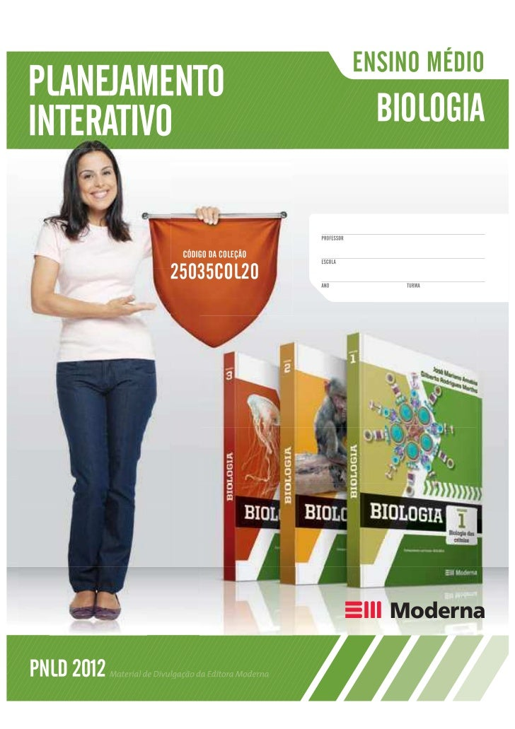Biologia - Planejamento Interativo