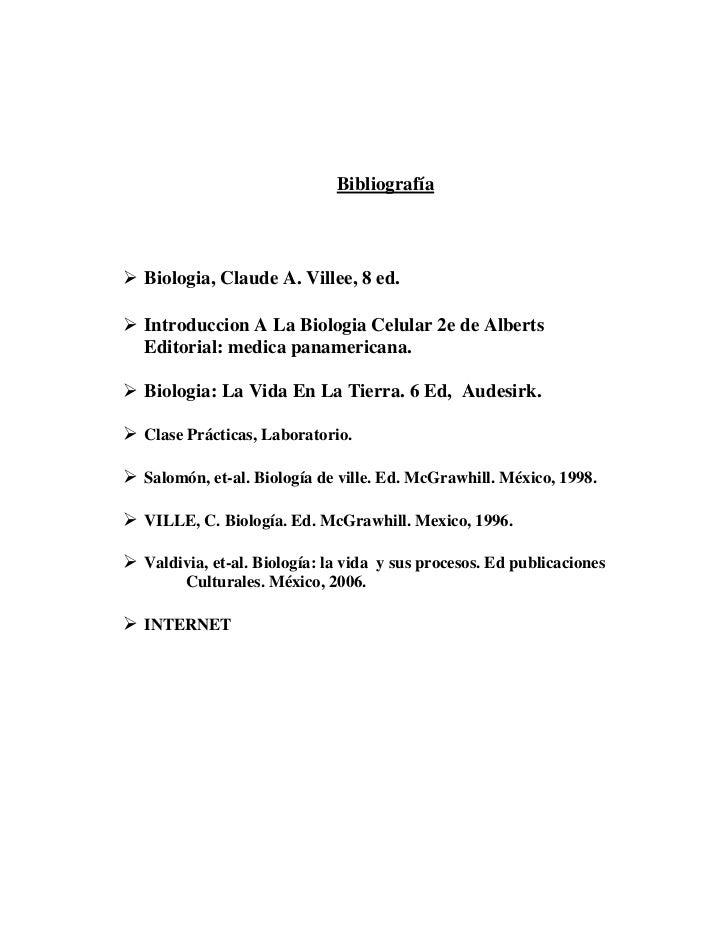 Biologia - Reacciones Quimicas