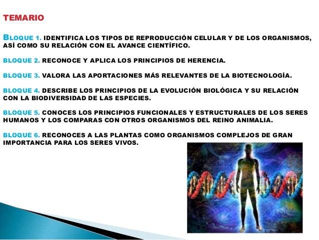 Biologia 2. bloque 1 Slide 3