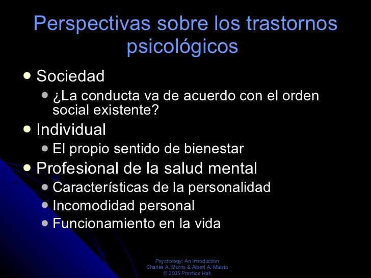 Biologia de los trastornos psiquiatricos Slide 2
