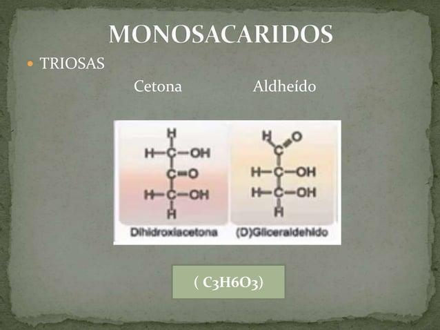 Pentosas Componente del RNA ( C5H10O5)