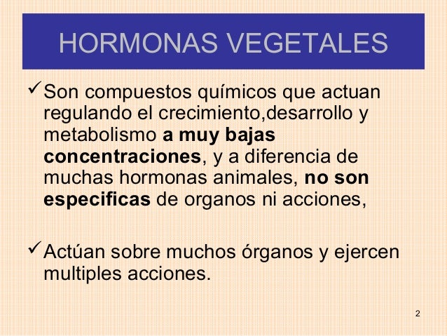 HORMONAS VEGETALESSon compuestos químicos que actuan regulando el crecimiento,desarrollo y metabolismo a muy bajas concen...