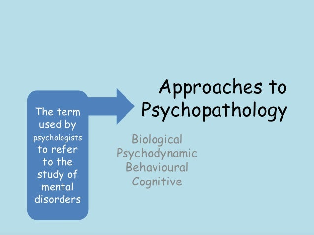 biological approach to psychology essay