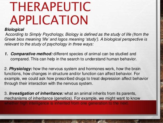 Biological Cognitive Psychology Pesentation