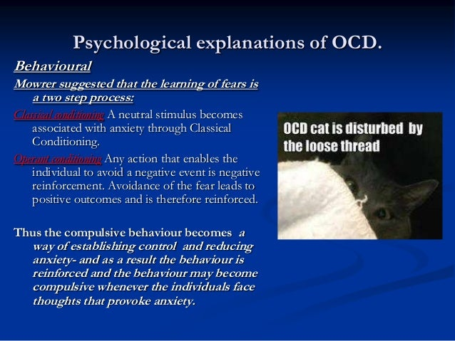 physiological psychology and ocd Recent biological psychology of 10- to 13-year-old children with social anxiety disorder from and physiological arousal in.