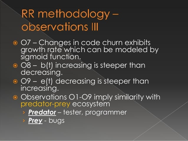   Most famous predator prey model expressed by:  db(t ) dt   b(  e)  de(t ) dt  e(  b)  Main characteristics:  › In the ...