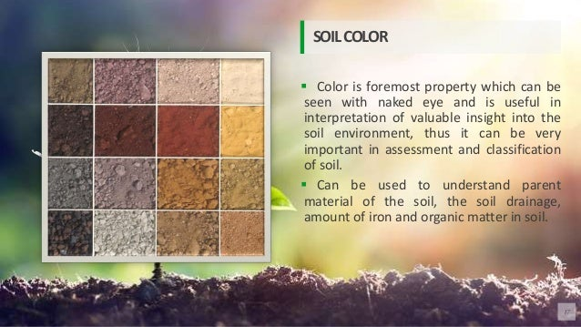  Color is foremost property which can be seen with naked eye and is useful in interpretation of valuable insight into the...
