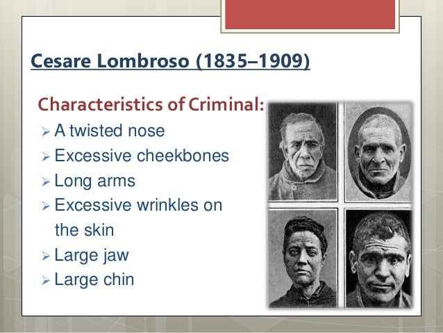 biological theory of crime essay Criminology, criminal justice - lombroso's biological theory of crime.