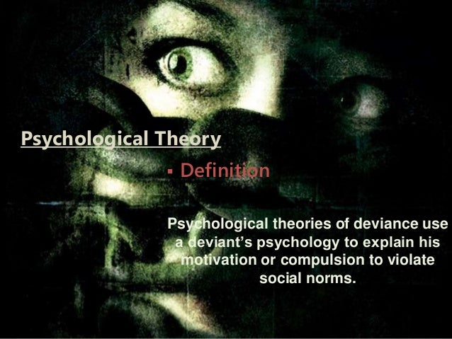an analysis of the characteristics of biological psychological and sociological theories of crime an Many psychological theories of deviance are inextricably linked to biological conditions of the human body and mind characteristics of deviants, such as poor self-control, impulsivity, aggression, lack of empathy, thrill-seeking, and poor reasoning and verbal skills, all may have a biological component that predisposes an.