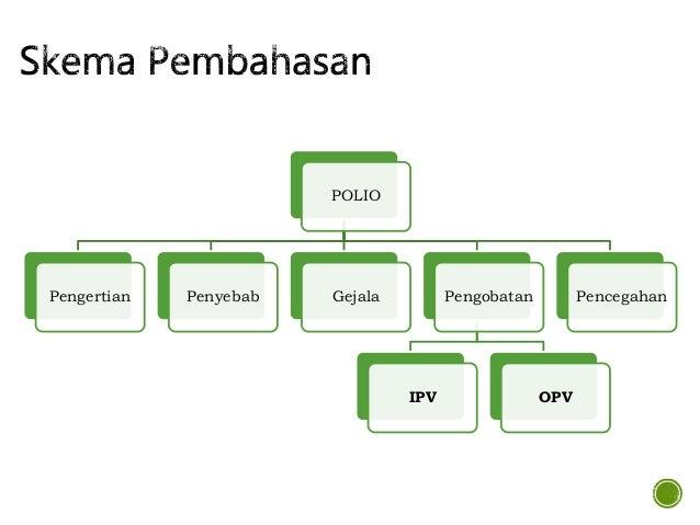 POLIO Pengertian Penyebab Gejala Pengobatan IPV OPV Pencegahan