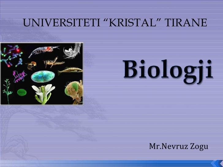 """UNIVERSITETI """"KRISTAL"""" TIRANE Mr.Nevruz Zogu"""