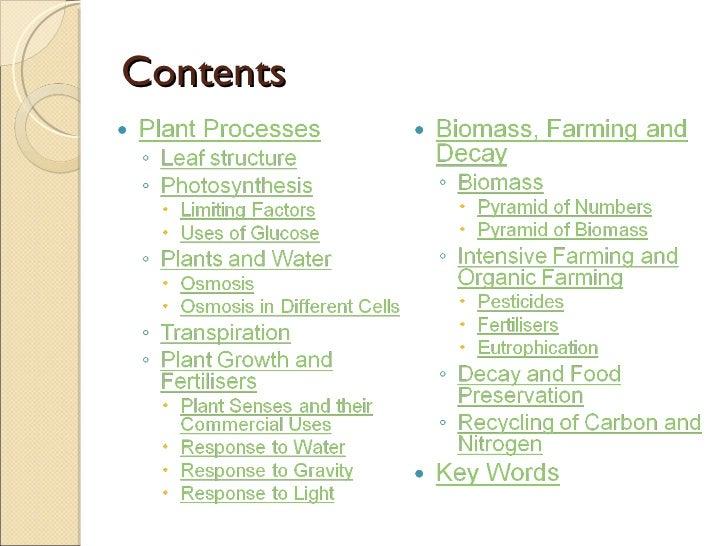 Biology notes MOST nezavisnih lista