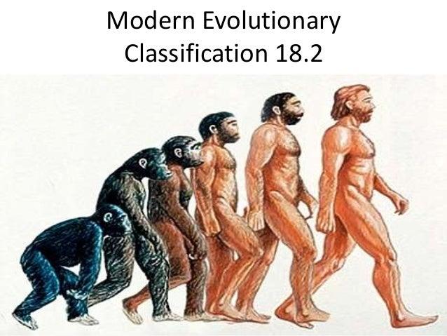 Modern Evolutionary Classification 18.2