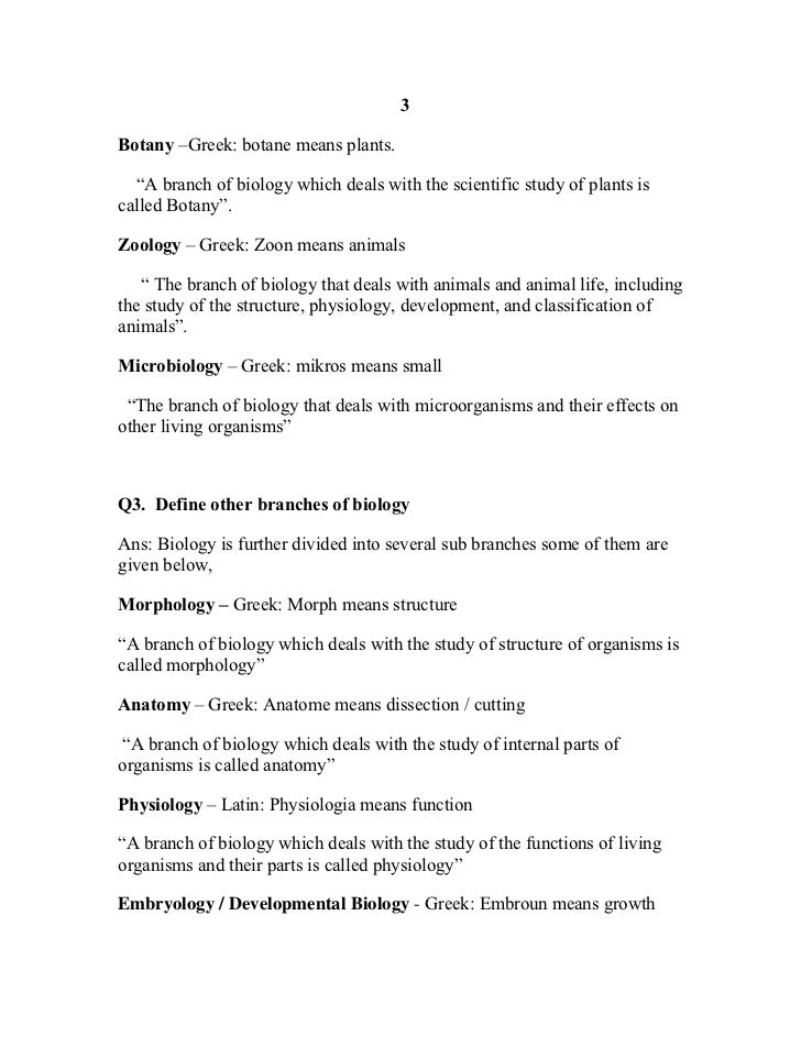 Biology 9th