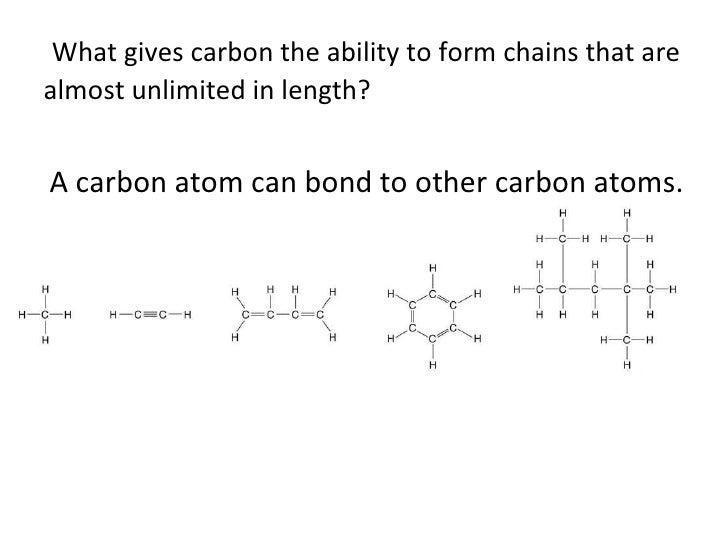 Worksheets Carbon Compounds Worksheet biology carbon compounds 6 what gives carbon