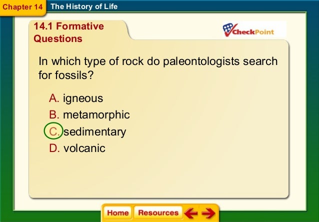 Relative dating determines the relative age of fossils according to