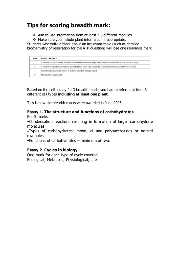 The structure and function of carbohydrates essay