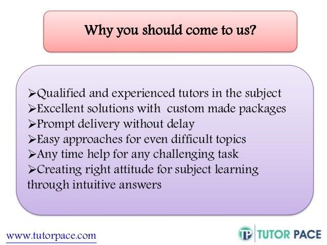 Homework help tutor biology