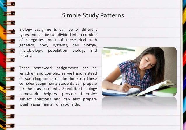 Botany homework help