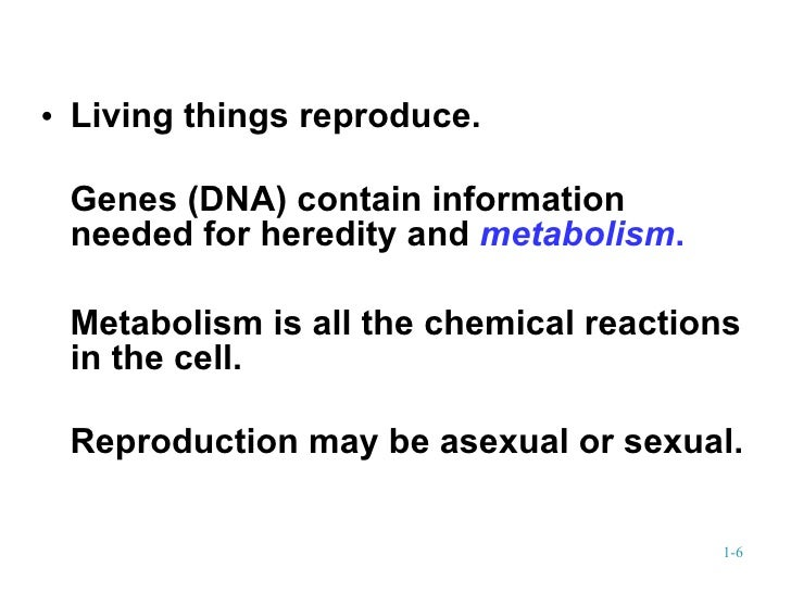 Biology introduction