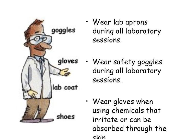 Biology Lab Safety on Laboratory Equipment Worksheet